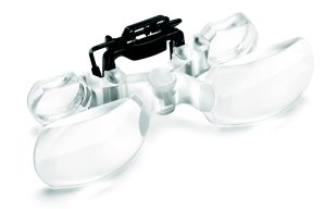 Max TV Clip On Magnification Glasses